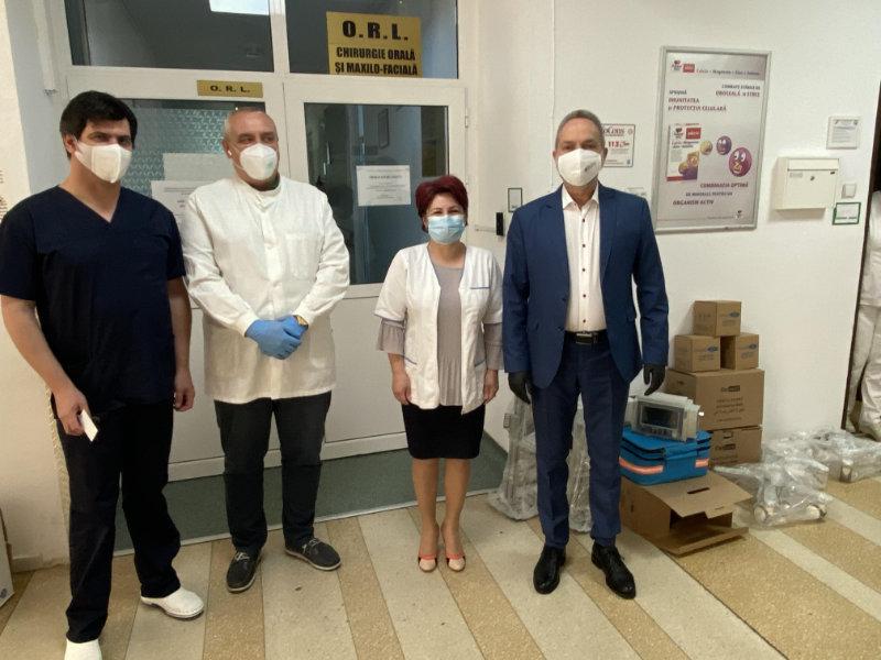 Primele 3 ventilatoare mecanice au intrat în dotarea Spitalului Județean Alba